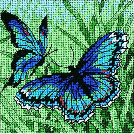 Duo  de  papillons  Dimensions  7183