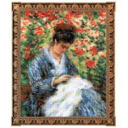 Camille Monet  100/051  Riolis  Broderie  Point de croix compté