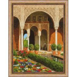 RIOLIS  1579  The Palace Garden