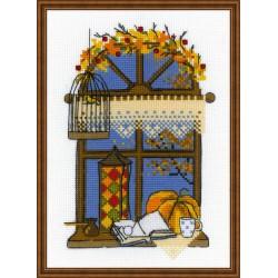 RIOLIS  1593  Fenêtre automne