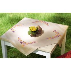 VERVACO  0156524  Nappe  Fleurs ludiques