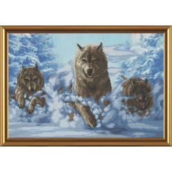 Nova Sloboda  kit Wolves  Nova Sloboda  CD 3079 | Broderie du monde