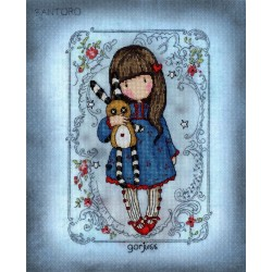 Bothy Threads  XG37  Hush Little Bunny  Gorjuss
