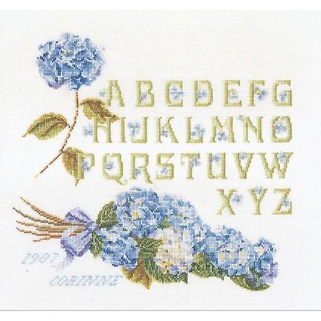 Alphabet  hortensias  2088  Lin  Thea Gouverneur