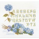 Alphabet  hortensias  2088  Thea Gouverneur  Lin 12 fils
