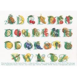 Thea Gouverneur  1090A  Fruit Alphabet
