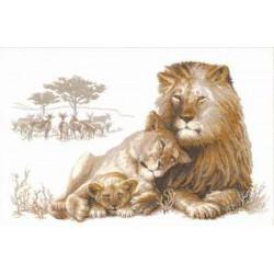Riolis  kit  Lion's  Paradise  100/013