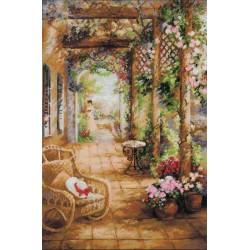 Riolis  kit A Secret Romance  Collection Premium  Riolis  100/043 | Broderie du monde