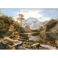 Riolis  kit Loch Lomond   Riolis 800   Broderie du monde