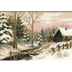 Riolis  kit Winter Fairy Tale | Riolis 919 | Broderie du monde