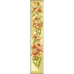 Riolis  kit Parrot Flower | Riolis 939 | Broderie du monde