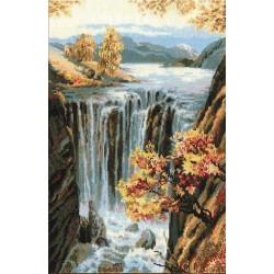 Riolis  kit Waterfall   Riolis 974   Broderie du monde