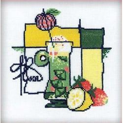 Riolis  kit Cocktail | Riolis 976 | Broderie du monde
