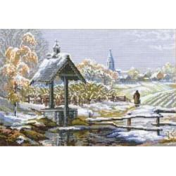 Riolis  kit First Snow | Riolis 1009 | Broderie du monde