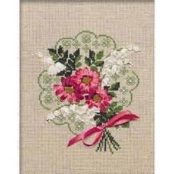 Riolis  kit Bouquet d'Amour | Riolis 1074 | Broderie du monde