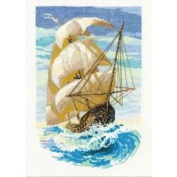 Riolis  kit Sailboat | Riolis 1091 | Broderie du monde