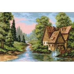 Riolis  kit The Mill   Riolis 1097   Broderie du monde