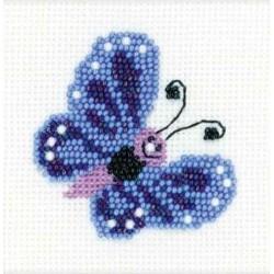 Riolis  kit  Papillon | Riolis 1110 | Broderie du monde