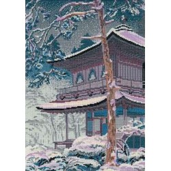 Riolis  kit La pagode | Riolis 1156 | Broderie du monde