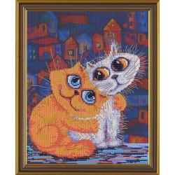 Nova Sloboda  kit Cats' Love  Nova Sloboda  CP 4085 | Broderie du monde