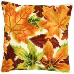 Coussin  Feuilles   0008767  Vervaco