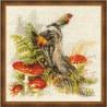 RIOLIS  1545  Souche avec Amanite tue-mouche