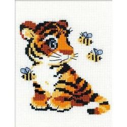 Riolis  kit Tigre | Riolis HB-092 | Broderie du monde