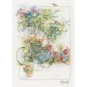 Lanarte   0168447  Flowers & Bicycle