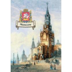 RIOLIS  0064PT  Les villes de Russie  Moscou