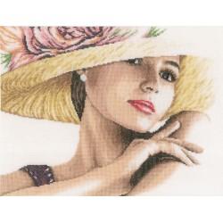 Lanarte   0168602  Femme avec chapeau